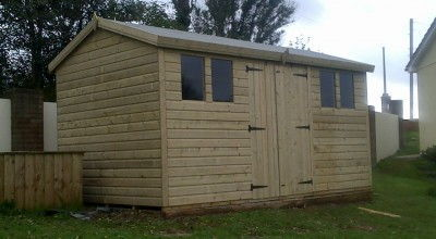 Garden Sheds Uk wooden garden sheds uk for sale - heavy duty 12x8 & 12x10 sizes