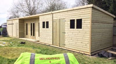Garden Sheds And Summerhouses midlands sheds & summer houses - uk timber & garden sheds for sale